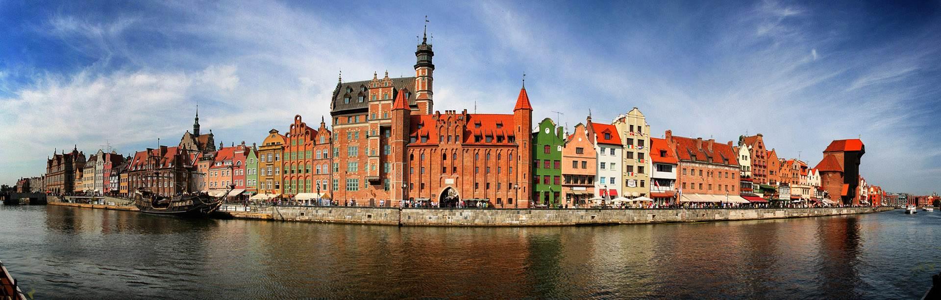 Walking tour of Gdansk