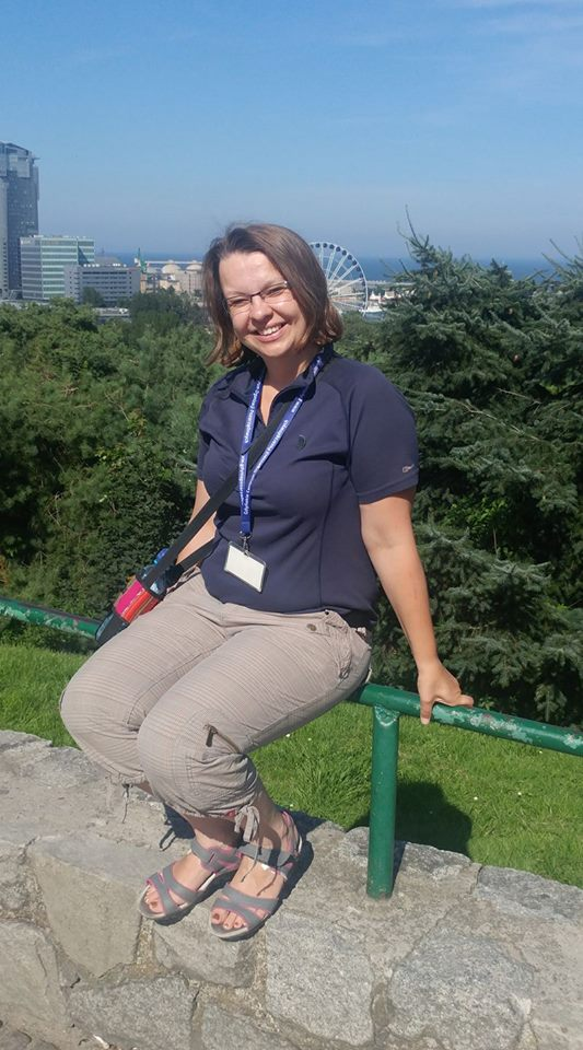 tour guide for Gdansk, Ania Anna Kotula